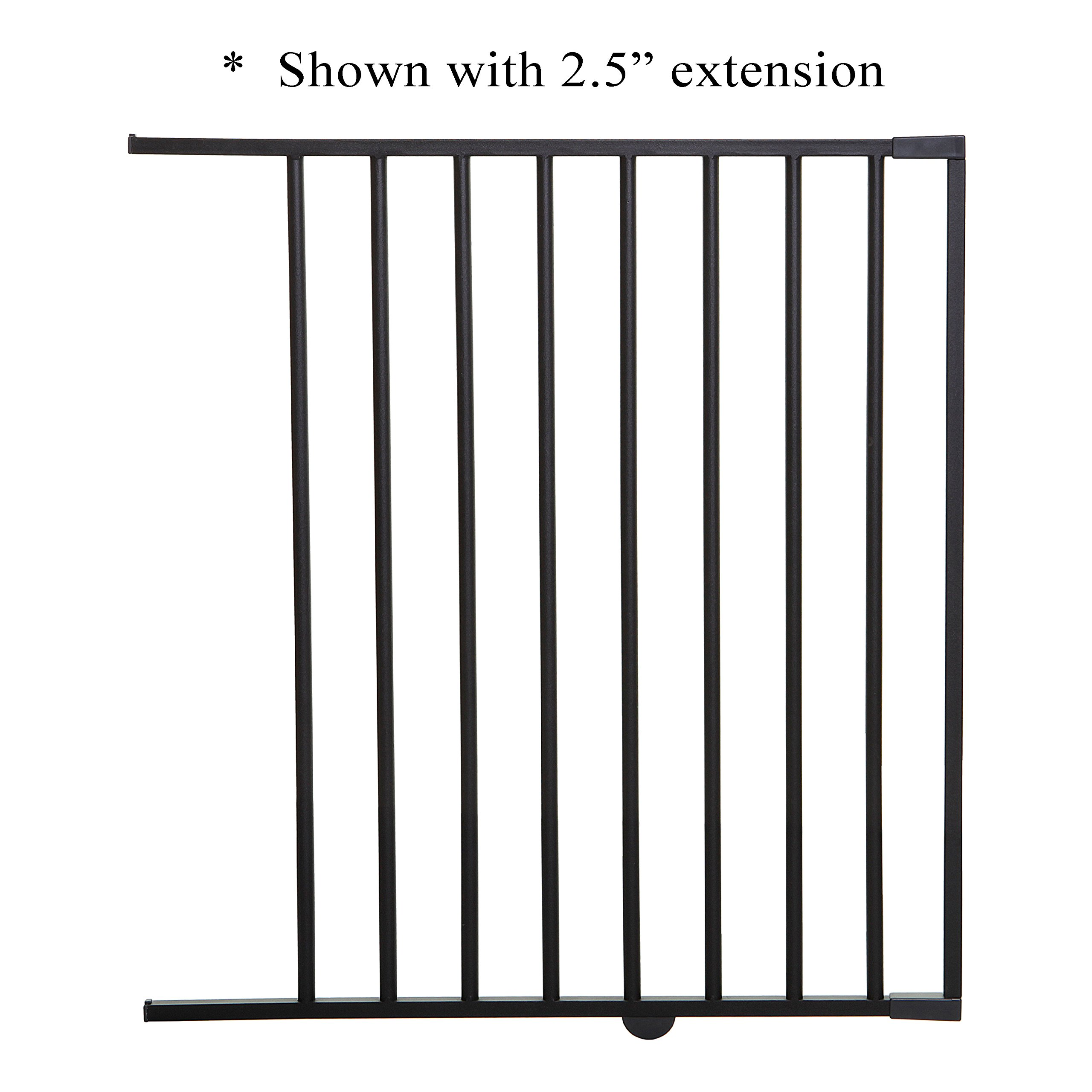 Dreambaby 22'' Extension, Fits Windsor & Metropolitan Gates - Charcoal