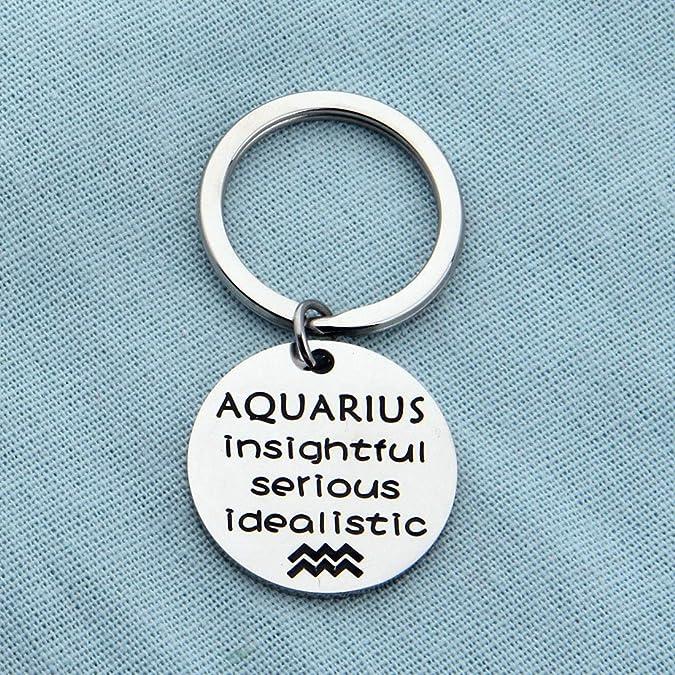 Amazon.com: AKTAP - Llavero con símbolo del zodiaco de ...