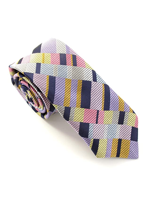 Van Buck Limited Edition - Corbata de bloque diagonal, color ...
