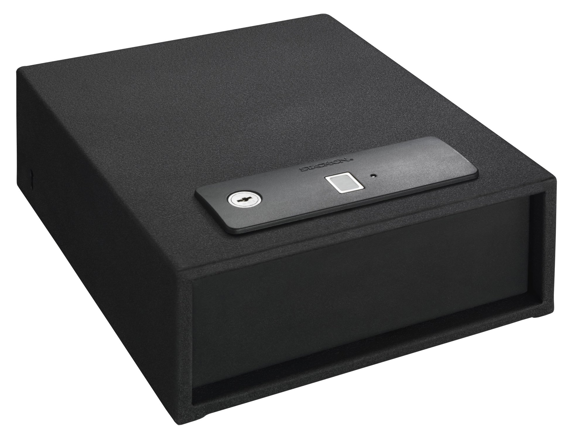 Stack-On Qas-1510-B Quick Access Auto Open Drawer Safe with Biometric Lock