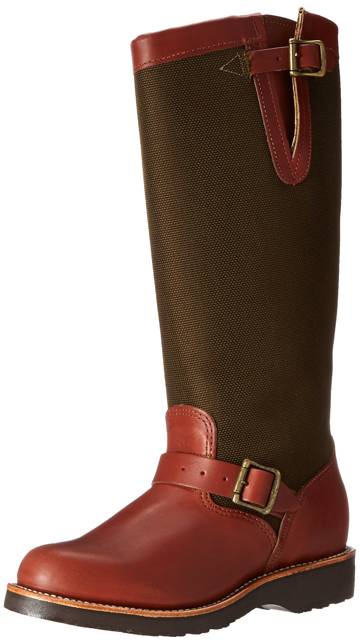 Chippewa Women's 15'' Pull On L23913 Snake Boot,Brown,8 M US