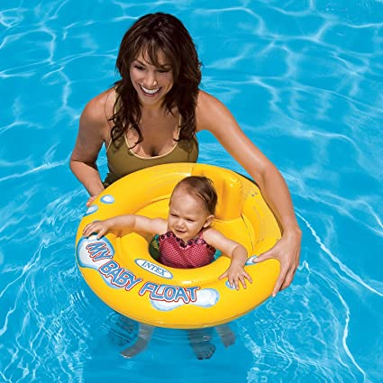 KriTech Inflatable Baby Float Ring Swimming Pool Toys for Babies & Toddlers  - 26.5\