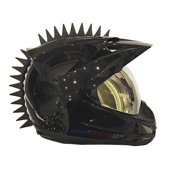 Amazon.com: customtaylor33 incluso Spikes Mohawk Casco ...