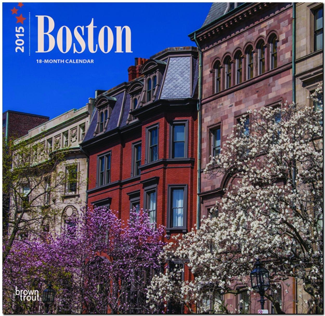 Boston 2015: Original BrownTrout-Kalender [Mehrsprachig] [Kalender]