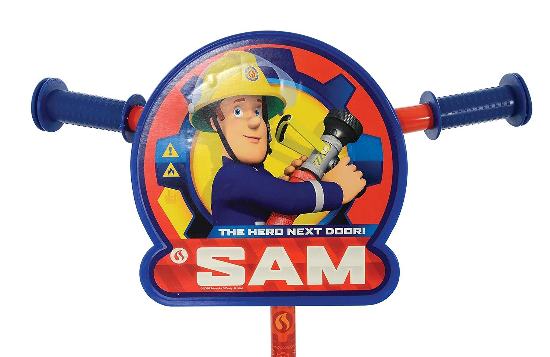 Unbekannt Feuerwehrmann Sam m14370/Licht und Sound Rescue Tri Scooter One Size