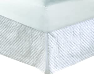 Greenland Home Diamond Quilted Bed Skirt, King