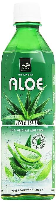 14 opinioni per Tropical- Bevanda Analcolica, con Aloe Vera- 500 ml