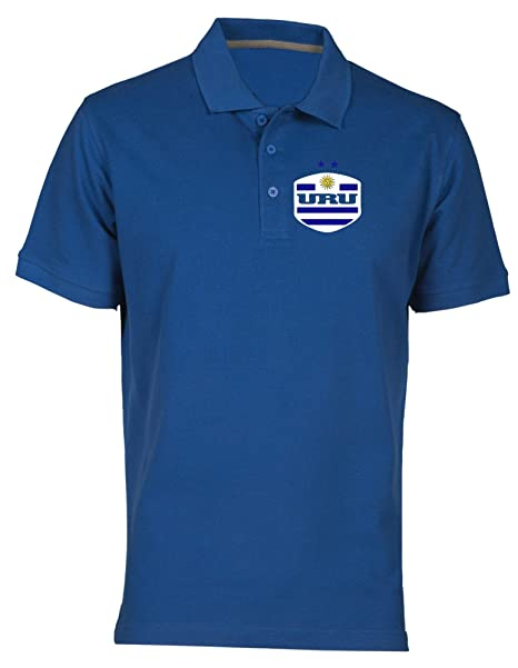 Speed Shirt Polo por Hombre Azul Royal WC0122 Uruguay LA Celeste ...