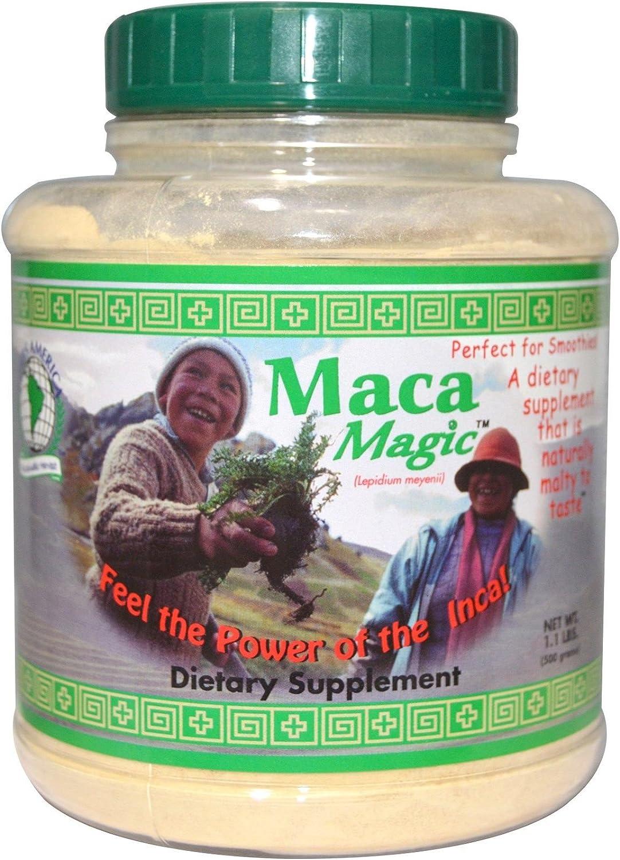 B00085DXII Maca Magic Powder Jar, 1.1 Pound 81HCrhg2L-L