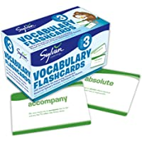 3rd Grade Vocabulary Flashcards: 240 Flashcards for Improving Vocabulary Based on Sylvan's Proven Techniques for Success