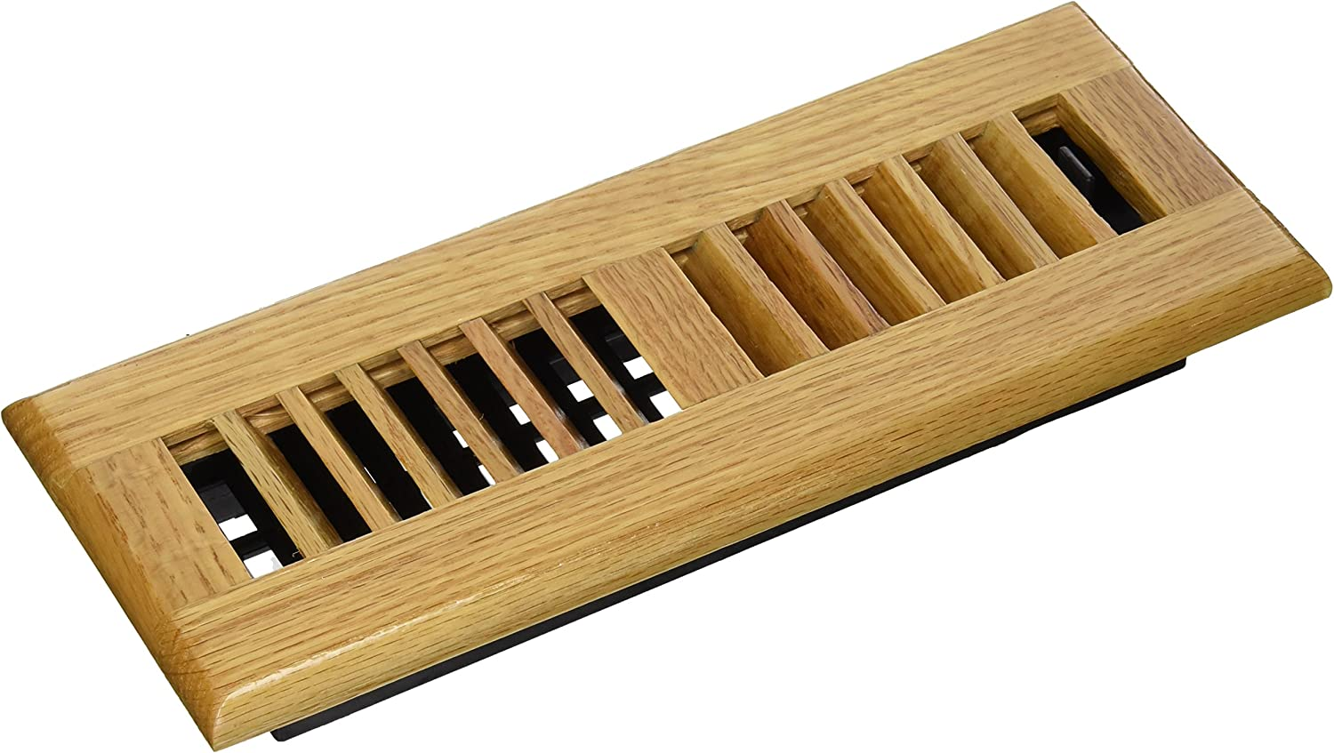 Decor Grates WL310-N Wood Louver Floor Register, Natural Oak, 3-Inch by 10-Inch