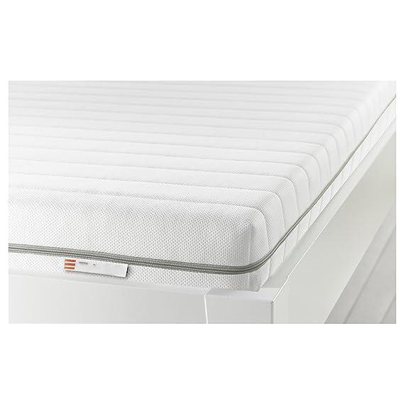 Tivoli colchón de 80 x 200 cm/Longitud: 200 cm; Grosor: 12 cm; Anchura: 80 cm/Espuma Resistente/Lavable a 60 Grados: Amazon.es: Hogar