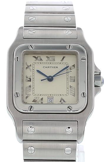 3d349e326e530 Cartier Santos galbee cuarzo Mens Reloj 1564 (Certificado de segunda mano)
