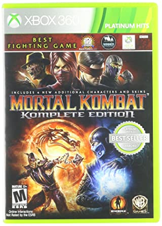 Amazon Com Warner Bros Mortal Kombat Komplete Edition Xbox 360
