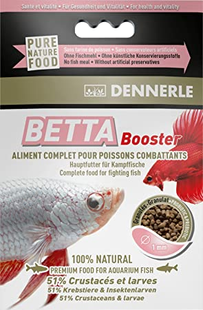 dennerle betta booster fish feed amazon co uk pet supplies
