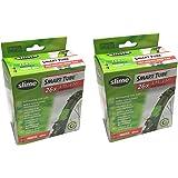 """Slime Smart Tube Self Healing 26"""" x 1.75-2.125 Presta Inner Tubes (Pack of 2)"""