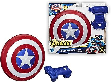 The Avengers Avengers Marvel Captain America Bouclier Magnétique et gant