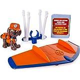 Paw Patrol 狗狗巡逻队终极救援 - Zuma 的终极救援悬翼带移动螺旋桨和救援钩,适合 3 岁及以上儿童