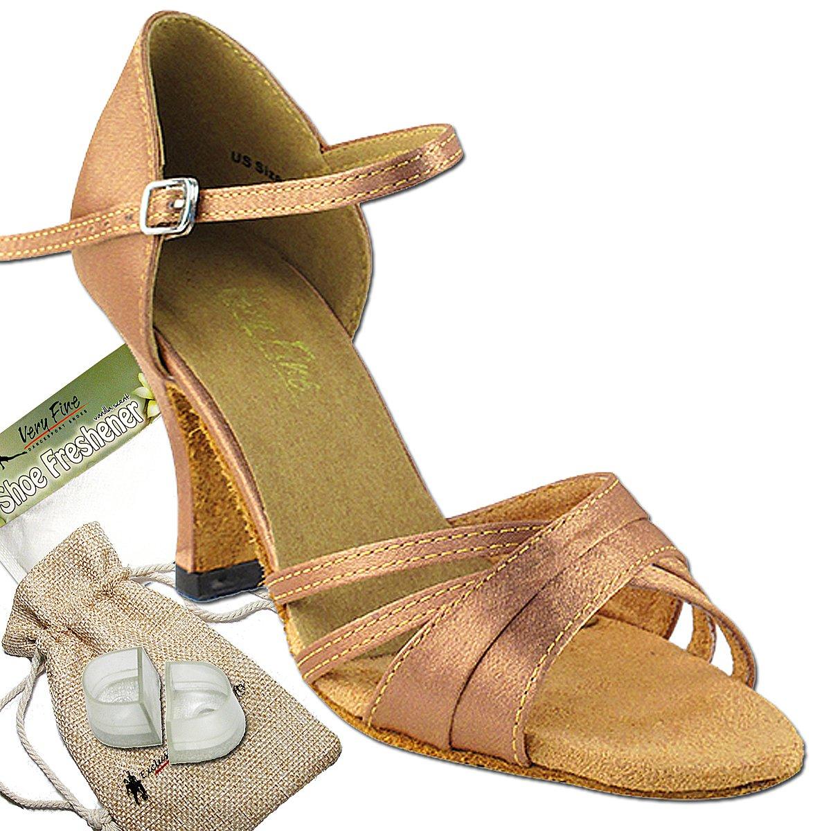 レディース社交ダンスシューズウェディングサルサタンゴ靴6030eb comfortable-very Fine 3