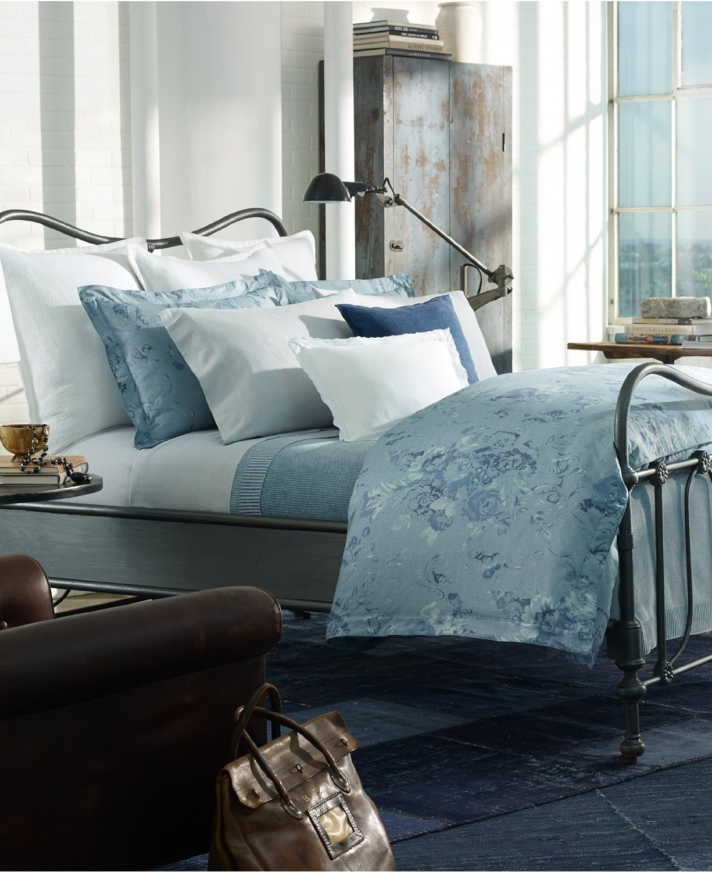 amazoncom ralph lauren indigo montauk king duvet cover home kitchen - Ralph Lauren Indigo