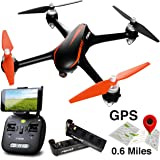 """Force1 Drones with Camera and GPS - """"MJX Bugs 2 Shadow"""" Camera Drone and WiFi FPV Drone with Camera Live Video + Drone 1080p Camera"""