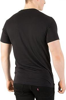 Lacoste Hombre 3 Pack Slim Fit Camisetas, Negro, Medium: Amazon.es ...