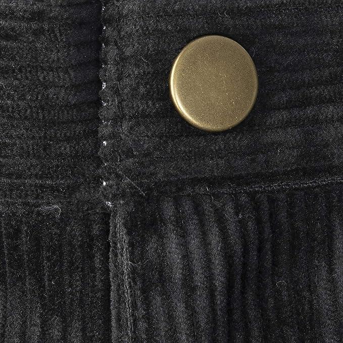 Buyless Fashion Boys Pants Flat Front Straight Cut Wide Corduroy Pattern