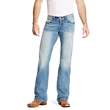 51018421 ARIAT Men's M7 Rocker Stretch Trace Boot Cut Jean at Amazon Men's Clothing  store: