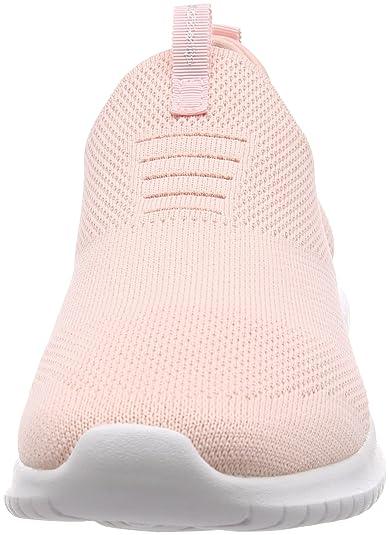 Amazon.com | Skechers Womens 12837 Slip on Trainers, Pink (Light Pink), 8 UK 41 EU | Fashion Sneakers