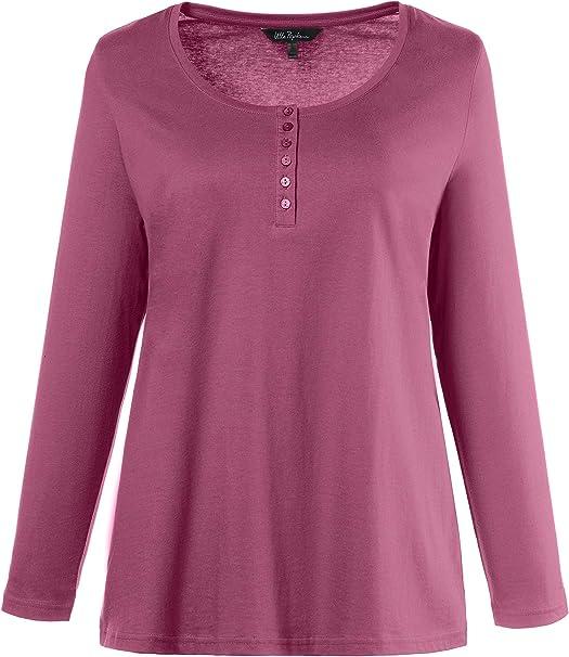 Ulla Popken T-shirt Shirt Rot