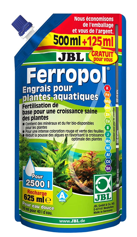 JBL Ferropol - Fertilizante de Recambio para Plantas acuáticas, 500 + 125 ml: Amazon.es: Productos para mascotas