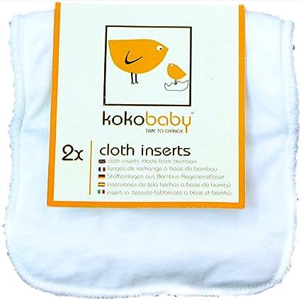 KokoBaby- Inserciones de tela hechos de bambú. Lavables y reusables