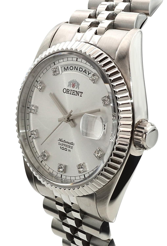 Orient Oyster - Reloj automático clásico Sapphire EV0J003W: Amazon.es: Relojes