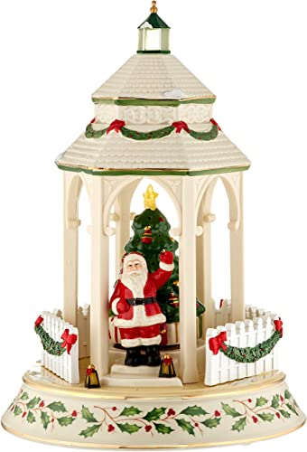 Lenox 869953 Holiday Tree Lighting Gazebo Centerpiece