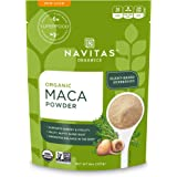 Navitas Organics Maca Powder, 8 oz. Bag — Organic, Non-GMO, Low Temp-DriedGluten-Free
