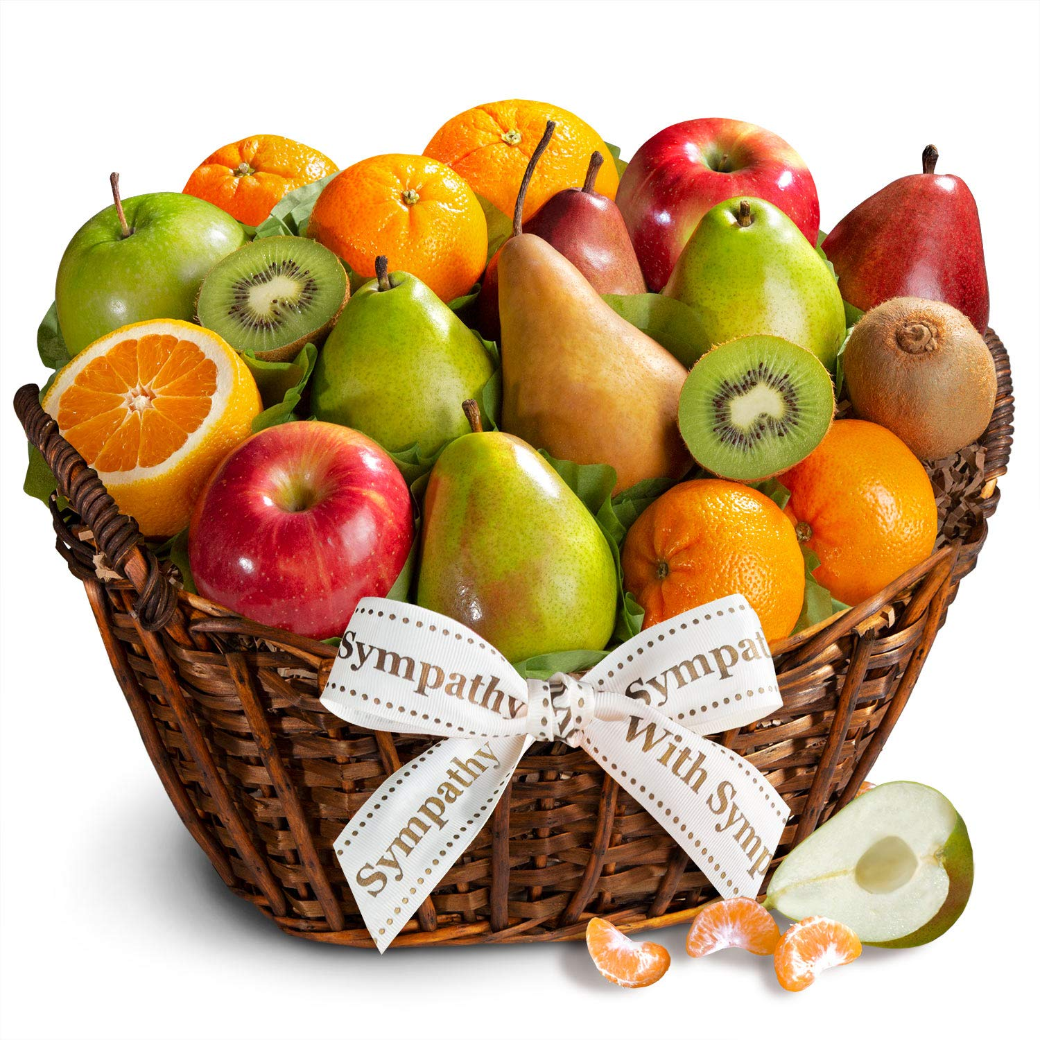 Golden State Fruit with Sympathy California Bounty Fruit Gift Basket