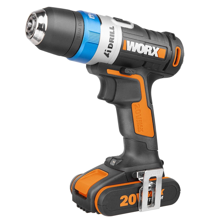 Worx WX178.1 Taladro Atornillador Negro 20 V