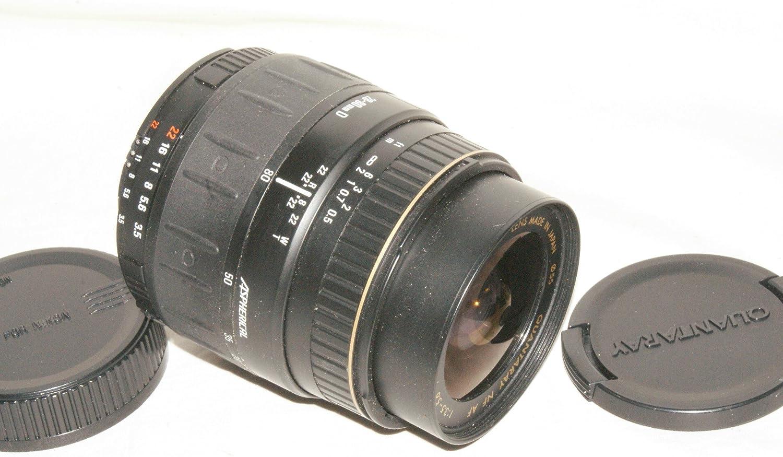 Quantaray NF AF 28-80mm F 3.5-5.6 D Macro Focusing type D lens for Nikon Film or DSLR Camera