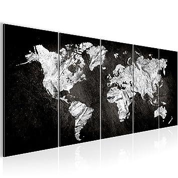 SENSATIONSPREIS 200 X 80 Cm Weltkarte World Map Wandbild Vlies   Leinwand  Bild XXL Format Wandbilder
