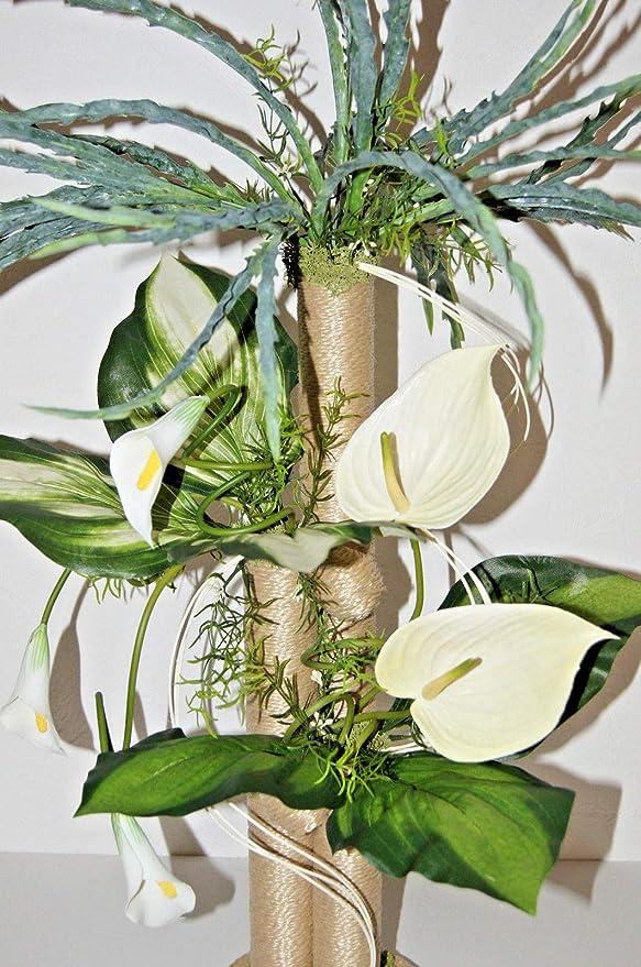 KUNSTBLUMEN Kunstgras Gras Büro Deko Arrangement Blumen Gesteck Tischdeko LN7-03