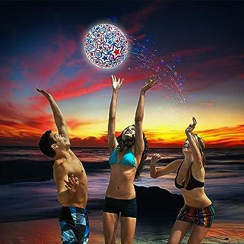 Swimways 6045218 Light Up Beach Ball - Pelota de Agua ...