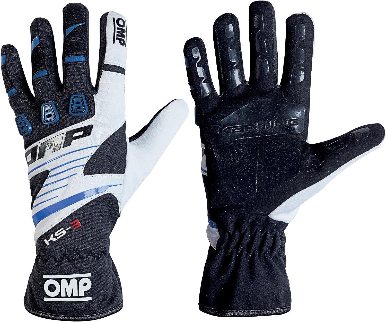 OMP KS-3/Kart Handschuhe mit kk02743e Karting Griff in Erwachsene /& Kinder-Gr/ö/ßen
