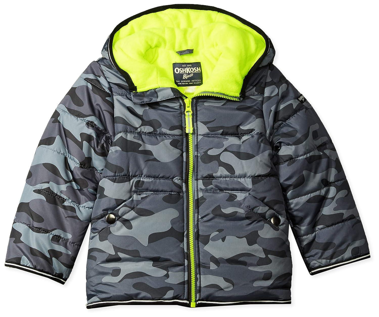 6064f9eaba73 Amazon.com  OshKosh B Gosh Baby Boys  Perfect Heavyweight Jacket ...