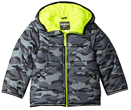 f042dc907d00 Amazon.com  OshKosh B Gosh Boys  Perfect Heavyweight Jacket Coat ...