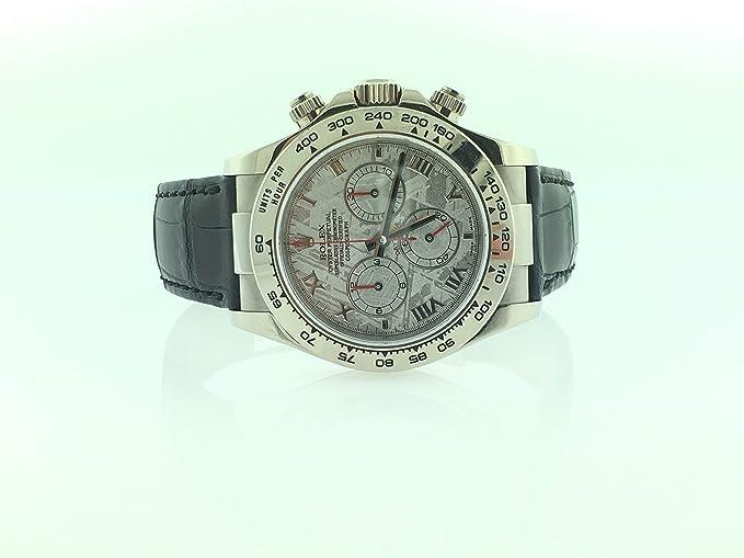 Rolex Daytona automatic-self-wind 116519 – Reloj para hombre (Certificado) de