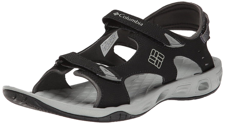 Columbia Women's Sunbreeze Vent Two-Strap Sandal B00L4GJS4I 12 B(M) US|Black Platinum