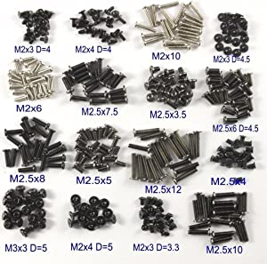 ZYAMY 320pcs Laptop Screws Assorted Kit DIY Assemble Repair Mini Screw Fastener for IBM Dell Lenovo Samsung DIY Computer Notebook Fastening