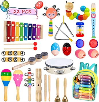Wooden Musical Toy Baby Children Percussion Instrument Educational Toys UK
