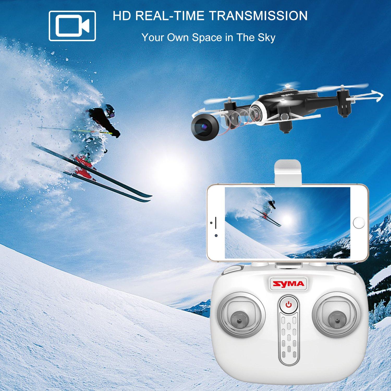 Syma X22W Drone Mini con Cámara WiFi FPV 2.4GHz 4CH 6-Axis ...