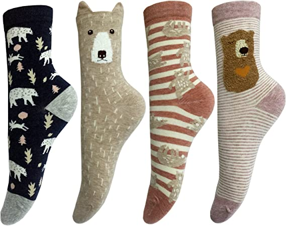 Jia Li Unisex Funny Novelty Casual Soft Cotton Socks